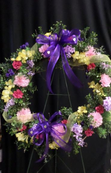 Spring Silk Wreath, Large