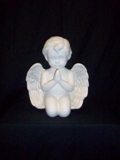 Praying Hands Cherub