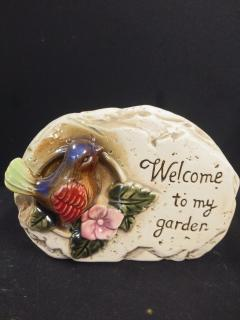AF Welcome To My Garden Stone