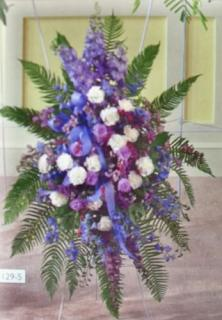 Blue and Purple Standing Spray