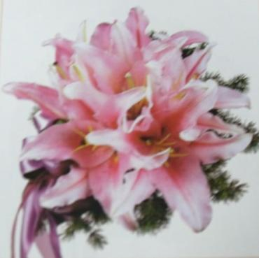 Arnold Florist Oriental Lily Nosegay