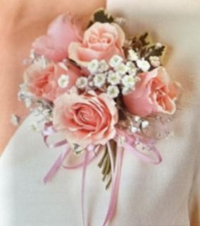 Pink Sweetheart Corsage