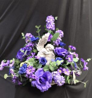 May You Find Comfort Keepsake Bouquet