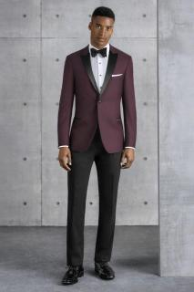 Kenneth Cole Burgundy Empire Style 201