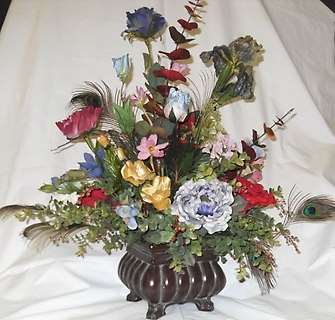 AF Peacock Feather Bouquet