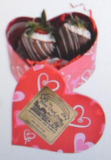 "Arnold Florist ""Chocolate Dipped Strawberries\"" 2 Count"