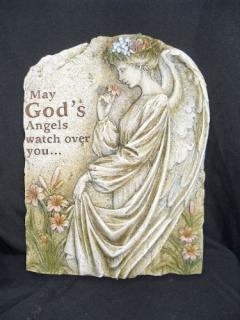 God\'s Angels Resin Wall Plaque