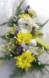AF Angel Floral for Inside of Casket