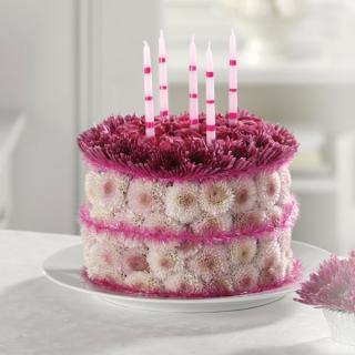Blooming Birthday Cake