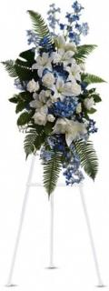 AF Blue and White Easel