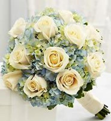 AF Blue and White Bouquet (Large)