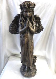 AF Cement Angel with Bronze finish