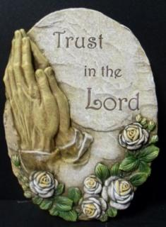 AF Trust in the Lord Plaque