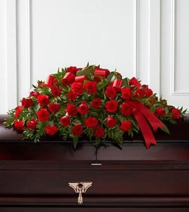 AF Red Casket Spray