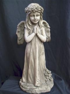 Praying Angel with Wings