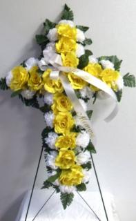 AF Yellow Rose Cross