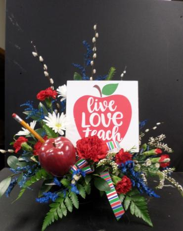 AF Live Love Teach Bouquet