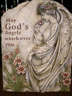 Gods Angels Large Resin Plaque