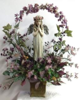 Standing Angel Bouquet (Permanent)
