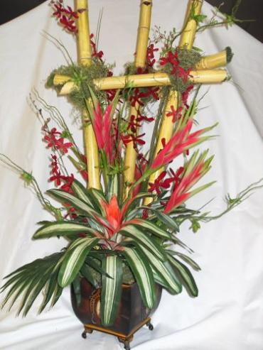 AF Bamboo and Bromeliads