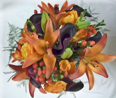 Seasonal Fall Mixed Bouquet