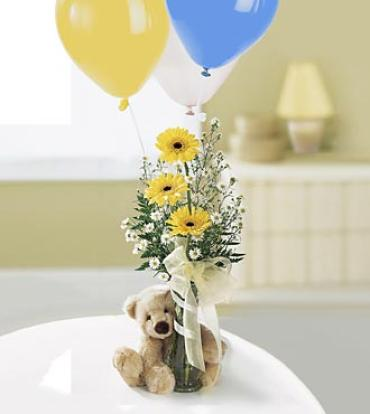 The Welcome Bear Bouquet