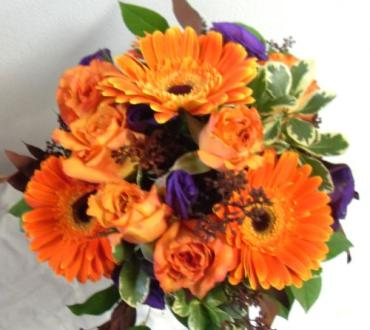 AF Orange Gerbera Bouquet