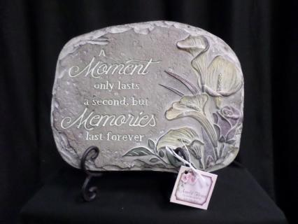 AF Calla Moment/Memories Plaque