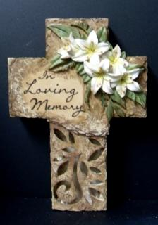 AF In Loving Memory Cross