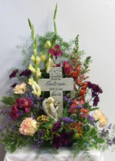 AF Angel Cross Bouquet (Fresh)