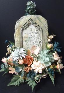 AF Peace Plaque Bouquet