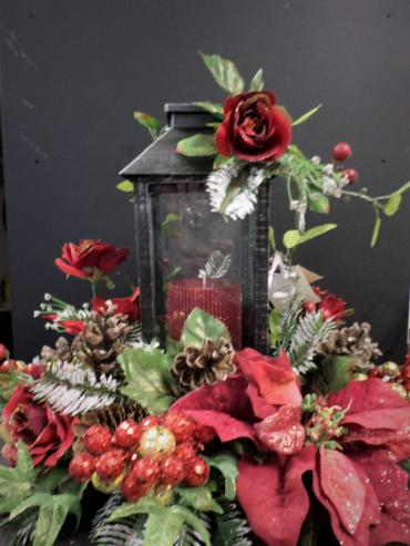 AF Red Enchanted Rose Lantern