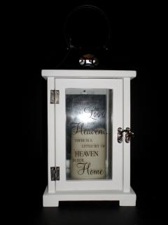 Keepsake Lantern with Led Candle-Because Someone We Love