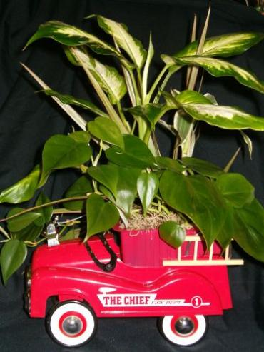 AF Fire Engine Planter