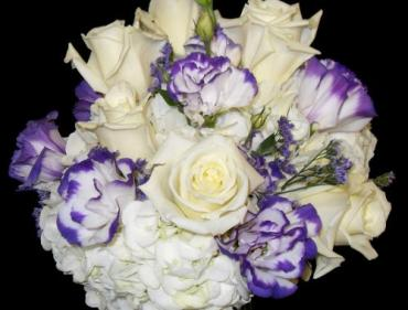 AF Hydrangea and Lisianthus Bouquet