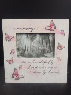 AF Message Frame, In Memories Of A Life