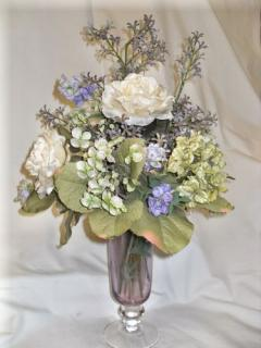 AF Purple Vase Arrangement