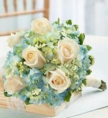 AF Blue and White Bouquet