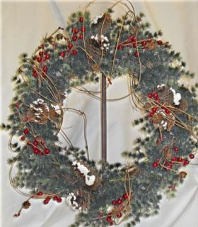 Snow Capped Wreath