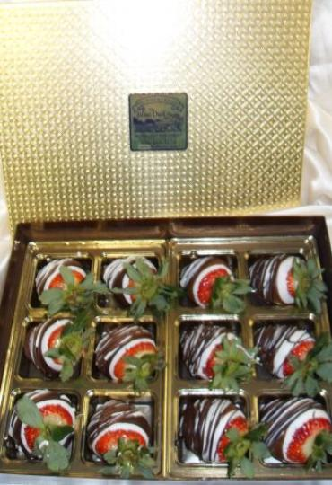 "Arnold Florist ""Chocolate Dipped Strawberries\"""