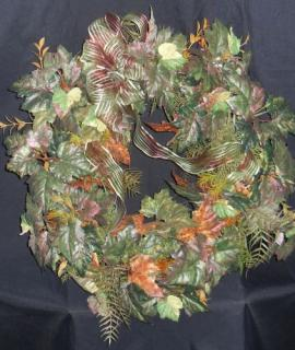 Wreath (Permanent Fall Foilage)