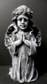 Weathered Kneeling Angel