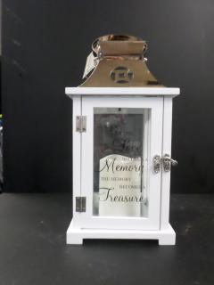 Keepsake Lantern with Led Candle- When someone you love
