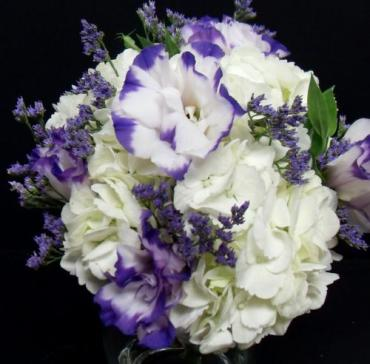 AF Hydrangea and Lisianthus Bouqet (Smaller)