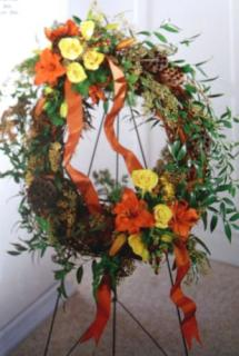 Flourishing Garden Wreath
