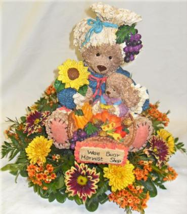 Bear Harvest Centerpiece