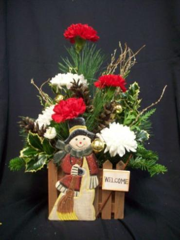 AF Snowman Welcome Bouquet