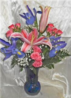 Arnold Florist Blue Dream Bouquet