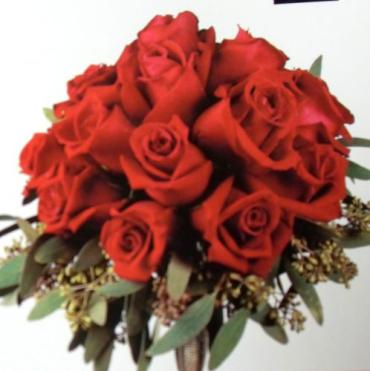Arnold Florist Red Rose Nosegay