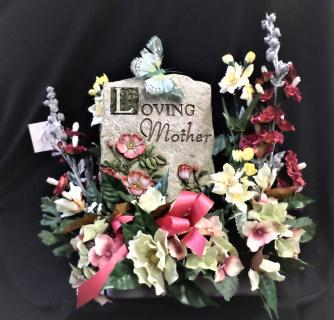 Loving Mother Permanent Floral Display
